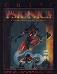 Gurps 3rd: Psionics: Fantastic Powers of Mind Over Matter - Used