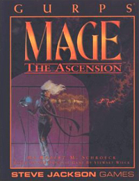 Gurps 3rd ed: Mage the Ascension - Used