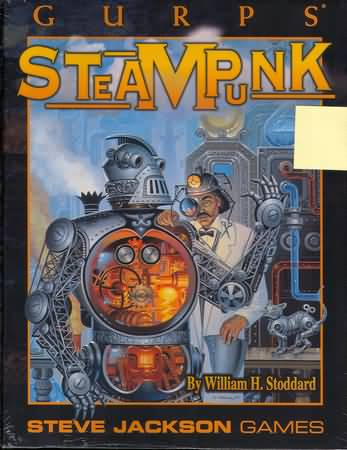 Gurps: Steampunk 1st ed: Softcover - Used