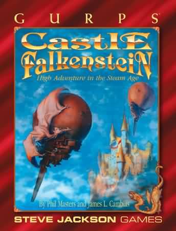 Gurps 3rd: Castle Falkenstein - Used
