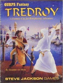 Gurps Fantasy: Tredroy - Used
