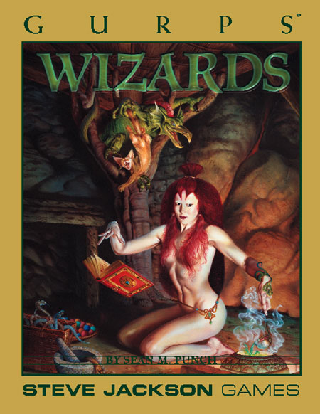 Gurps 3rd: Wizards - Used