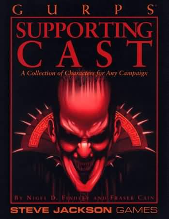 Gurps 3rd: Supporting Cast - Used