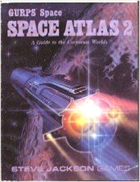 GURPS 1st ed: Space Atlas 2: A Guide to the Corporate Worlds - Used