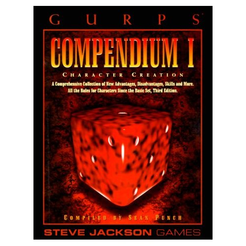 Gurps 3rd: Compendium I: Character Creation - Used