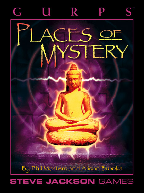 Gurps 3rd: Places of Mystery - USED