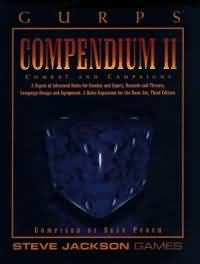 Gurps 3rd : Compendium II Combat And Campaigns - Used