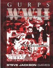Gurps 3rd: WW II: a World Ablaze, Its Destiny in the Balance: Hard Cover - Used