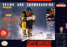 Tommy Moes: Skiing and Snowboarding Winter Extreme - SNES