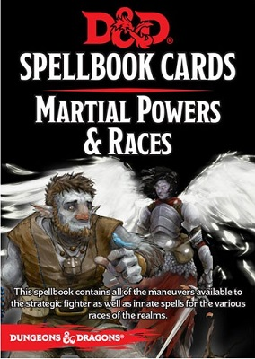 Dungeons and Dragons: Spellbook Cards: Martial Powers and Races Deck