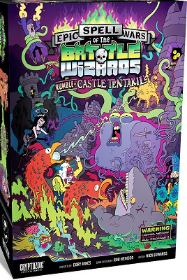 Epic Spell Wars of the Battle Wizards 2: Rumble at Castle Tentakill Card Game