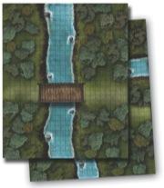 Pathfinder: Game Mastery: Flip-Mat: River Crossing