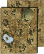 Pathfinder: Game Mastery: Flip-Mat: Desert