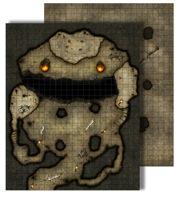 Pathfinder: Game Mastery: Flip-Mat: Dragons Lair