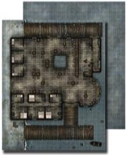 Pathfinder: Game Mastery: Flip-Mat: Waterfront Tavern