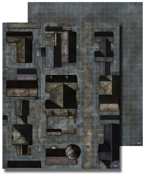 Pathfinder: Flip-Mat Classic: City Streets