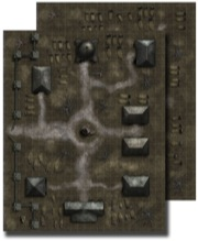 Pathfinder: Game Mastery: Flip-Mat: Necropolis