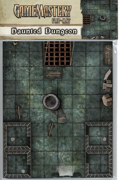 Pathfinder: Game Mastery: Flip-Mat: Haunted Dungeon