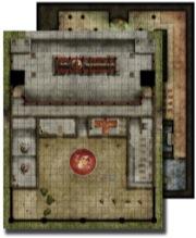 Pathfinder: Game Mastery: Flip-Mat: Monastery