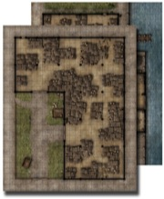 Pathfinder: Game Mastery: Flip-Mat: Warehouse
