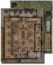 Pathfinder: Game Mastery: Flip-Mat: Urban Tavern