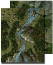 Pathfinder: Game Mastery: Flip-Mat: Deep Forest