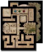 Pathfinder: Game Mastery: Flip-Mat: Ancient Dungeon