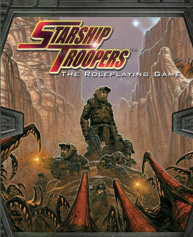 Starship Troopers Role Playing HC - Used