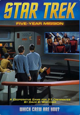 Star Trek: Five Year Mission Board Game - USED - By Seller No: 17065 Gerald D. Drake