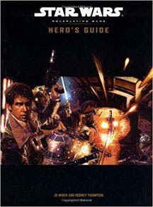 Star Wars Role Playing Game: Heros Guide HC - USED