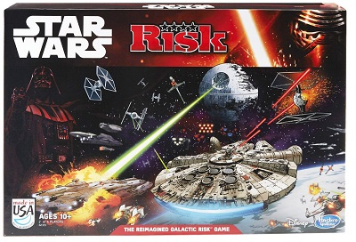 Risk: Star Wars Board Game - USED - By Seller No: 6892 Kraig Sagan