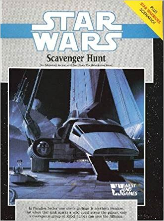 Star Wars RPG Scavenger Hunt - Used