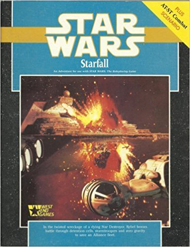 Star Wars RPG Star Fall - Used