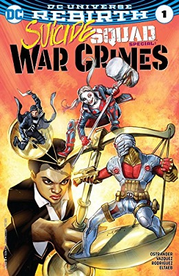 Suicide Squad: War Crimes (2016) One Shot - Used