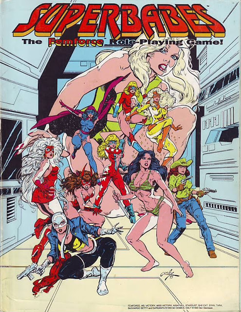 Superbabes: The Femforce Role-Playing Game - Used