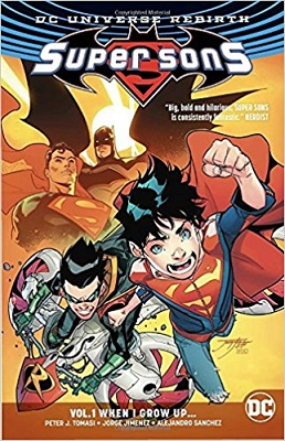 Super Sons: Volume 1: When I Grow Up TP