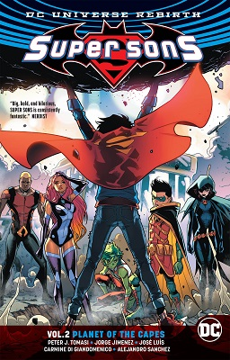 Super Sons: Volume 2: Planet of the Capes TP