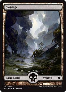 Swamp - Battle for Zendikar (Full Art)