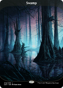 Swamp - (Unstable) - Full Art