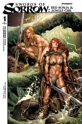 Swords of Sorrow: Red Sonja and Jungle Girl (2015) Complete Bundle - Used