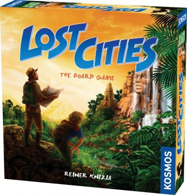 Lost Cities: The Card Game - Thames and Kosmos - USED - By Seller No: 12677 Kathryn R Robertson
