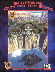 D20: Bluffside City on the Edge - Used