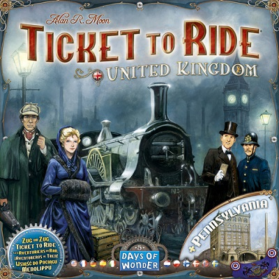 Ticket To Ride: Map Collection 5: British Isles and Pennsylvania