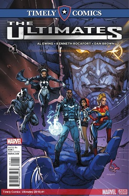 Timely Comics: Ultimates (2016) no. 1 (One Shot) - Used