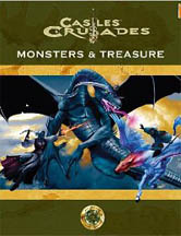 Castles and Crusades: Monsters and Treasures HC - Used