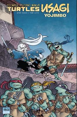 Teenage Mutant Ninja Turtles: Usagi Yojimbo HC