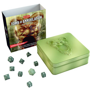 Dungeons and Dragons 5th Ed: Tomb of Annihilation Dice Set