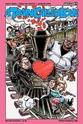 A Train Called Love (2016) Complete Bundle - Used