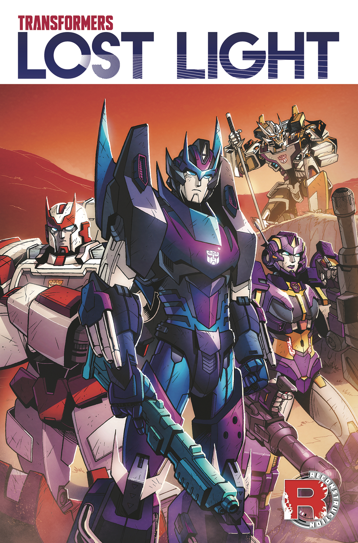 Transformers: Lost Light: Volume 1 TP