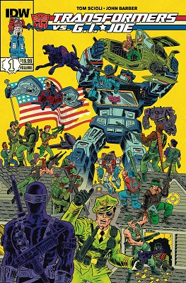Transformers vs GI Joe: Volume 1 TP